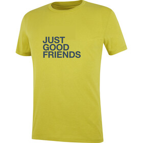 Wild Country Flow Tee Men whin yellow/good friends
